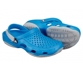 Crocs Swiftwater Deck Ocean / Light Grey (niebieski)