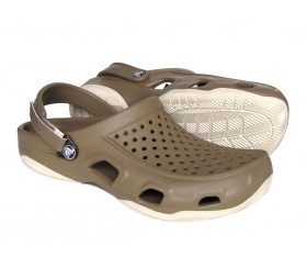 Crocs Swiftwater Deck Khaki / Oyster (beż)
