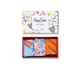 Happy Socks 3pack  Gift Box dla Mamy XMOT08-2000