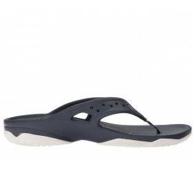 Japonki Crocs Swiftwater Deck Navy (granat)