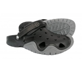 Crocs Swiftwater Black / Charcoal (czarny)