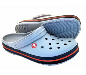 Crocs Crocband Light grey / Navy (szare)