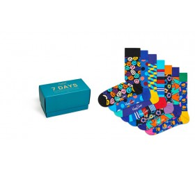 Happy Socks 7pack Gift Box 7 Days XSNI08-0100
