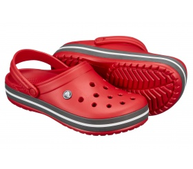 Crocs Crocband Pepper / Black (czerwone)
